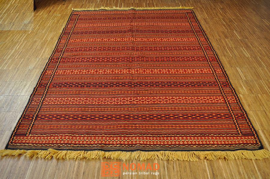 nomaden teppich kelim kalat iran 200 x 150 cm nomad art. Black Bedroom Furniture Sets. Home Design Ideas