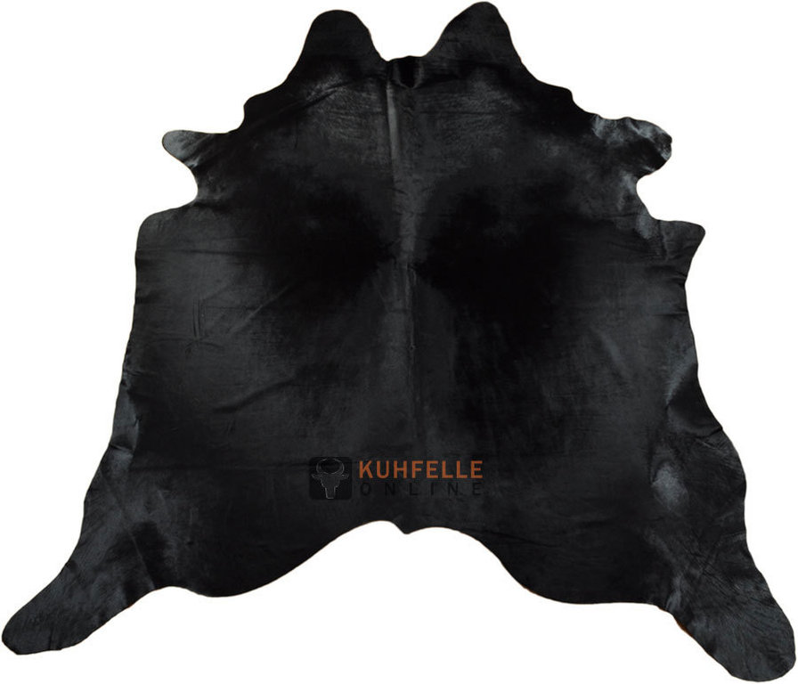 Kuhfell teppich  KUHFELL TEPPICH SCHWARZ 235 x 200 cm - KUHFELLE online & NOMAD