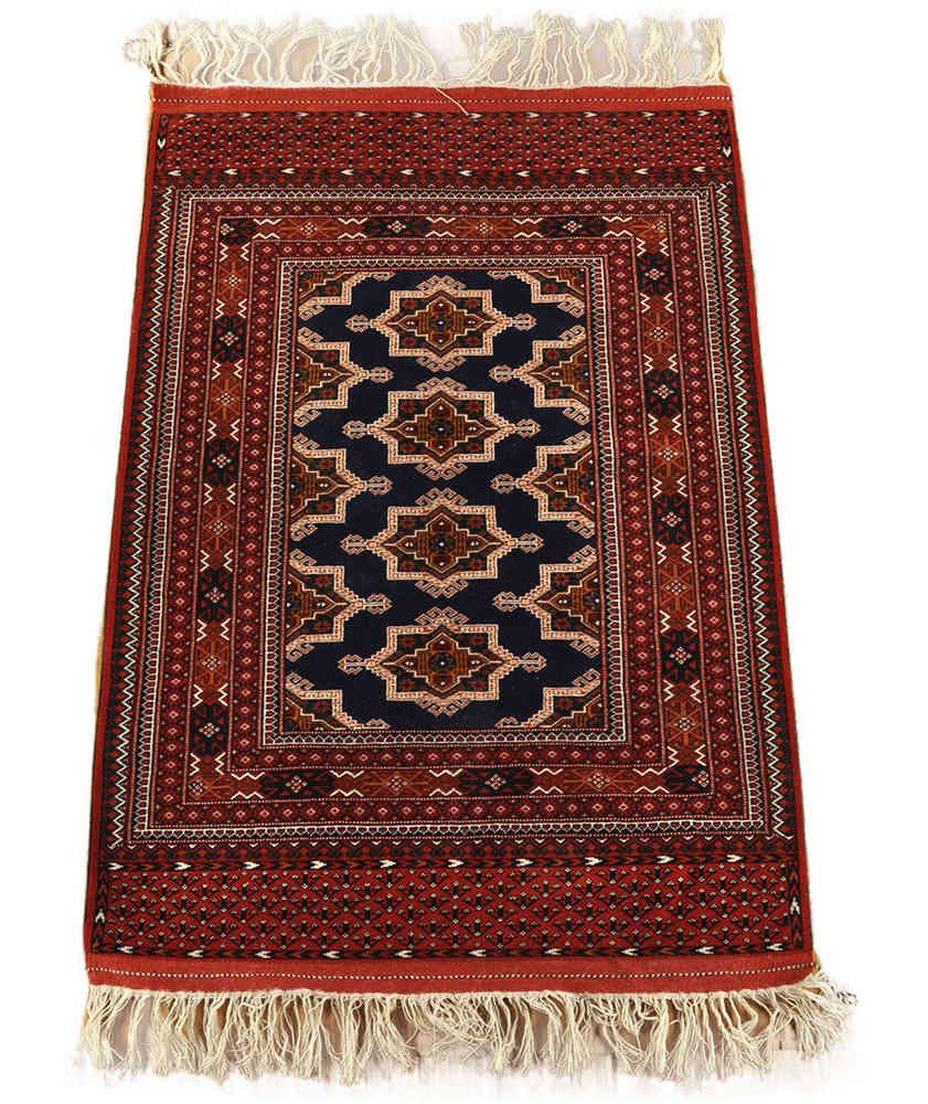 Persischer teppich  persischer Turkmen Teppich 110 x 172 cm Wolle bei nomad art bestellen