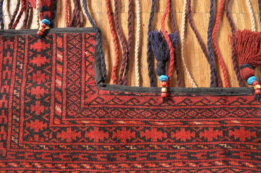 Nomaden Teppich Türvorhang ZeltSchmuck 115 x 175 cm