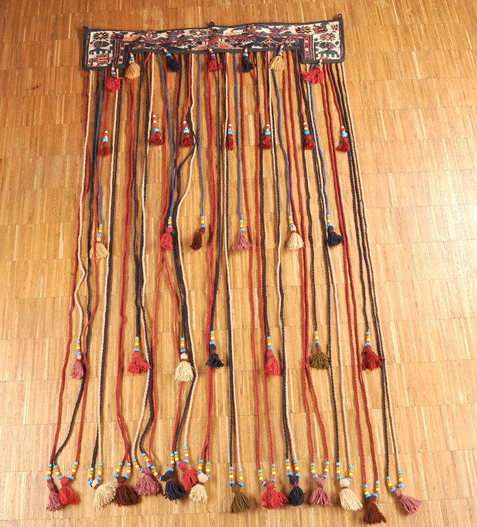 Nomaden Teppich Türvorhang ZeltSchmuck 118 x 215 cm