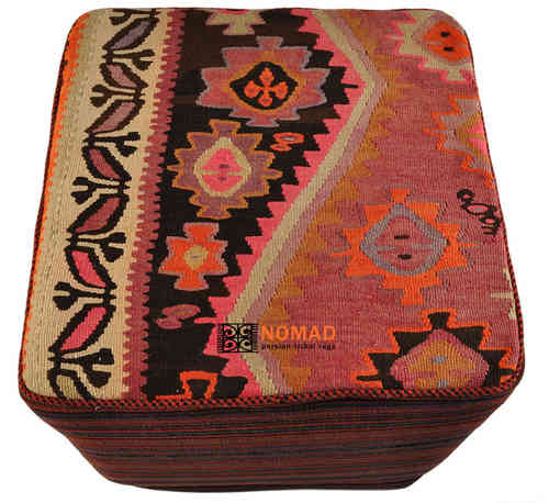 kilim stools by nomad art. Black Bedroom Furniture Sets. Home Design Ideas