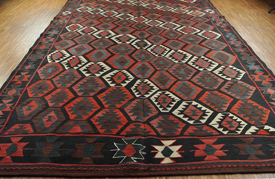 kelim veramin persischer nomad teppich 166 x 300 cm bei nomad art. Black Bedroom Furniture Sets. Home Design Ideas