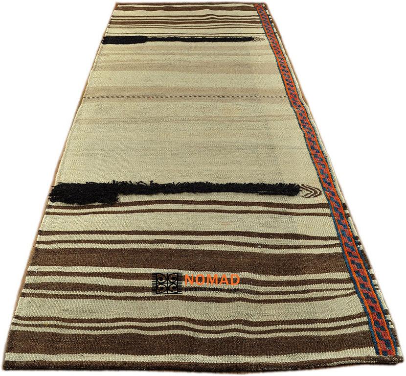 Old Kilim Kurdish 245 X 94 Cm Tribal Rug