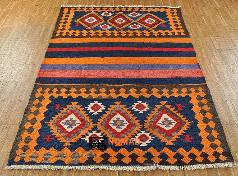 Kelim Azerbaijan 150 x 106 cm Nomaden Teppich aus Persien