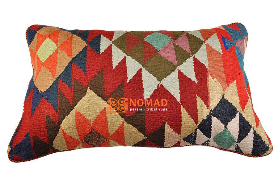 kelim sitzkissen kissenh lle 80 x 50 cm mehrfarbig nomad art. Black Bedroom Furniture Sets. Home Design Ideas