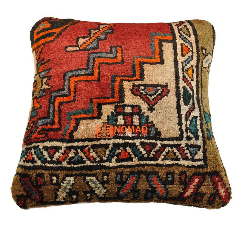 gabbeh deko kissen 50 x 50 cm orient kissenbezug bei nomad art. Black Bedroom Furniture Sets. Home Design Ideas