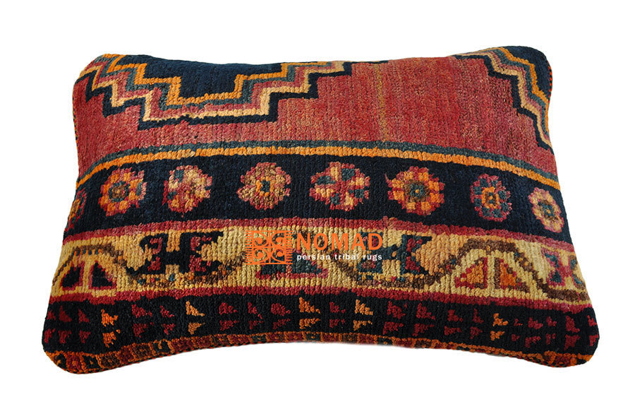 gabbeh deko kissen 40 x 60 cm orient kissenbezug bei nomad art. Black Bedroom Furniture Sets. Home Design Ideas