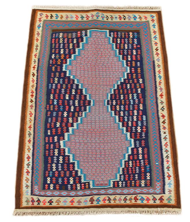 Old Kilim Kurdish 166 X 112 Cm Tribal Rug