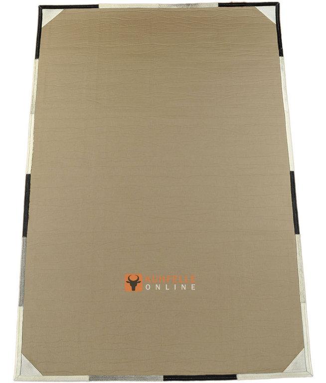 kuhfell teppich 210 x 150 cm grau schwarz wei bei. Black Bedroom Furniture Sets. Home Design Ideas