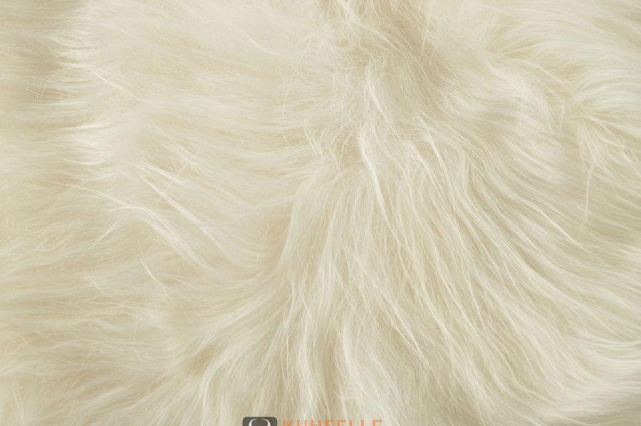 Teppich rund creme  Öko Lammfell Teppich creme weiß 130 x 200 cm XL langhaarig online ...