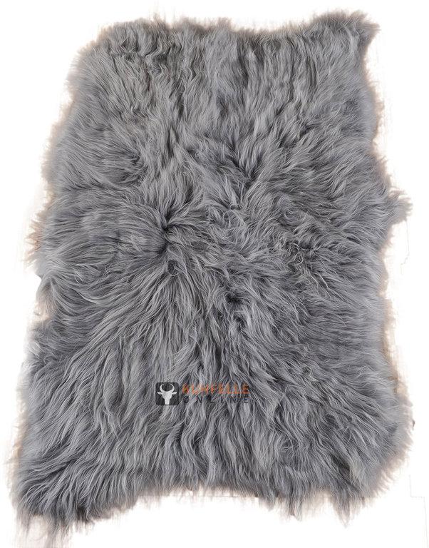lammfell teppich grau 115 x 160 cm kurzwollig bei kuhfell bestellen. Black Bedroom Furniture Sets. Home Design Ideas