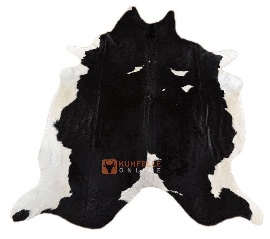 kuhfell schwarz weiss 260 x 190 cm bei kuhfelle online bestellen. Black Bedroom Furniture Sets. Home Design Ideas