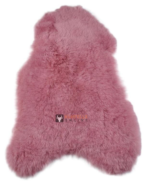 Fell teppich rosa harzite