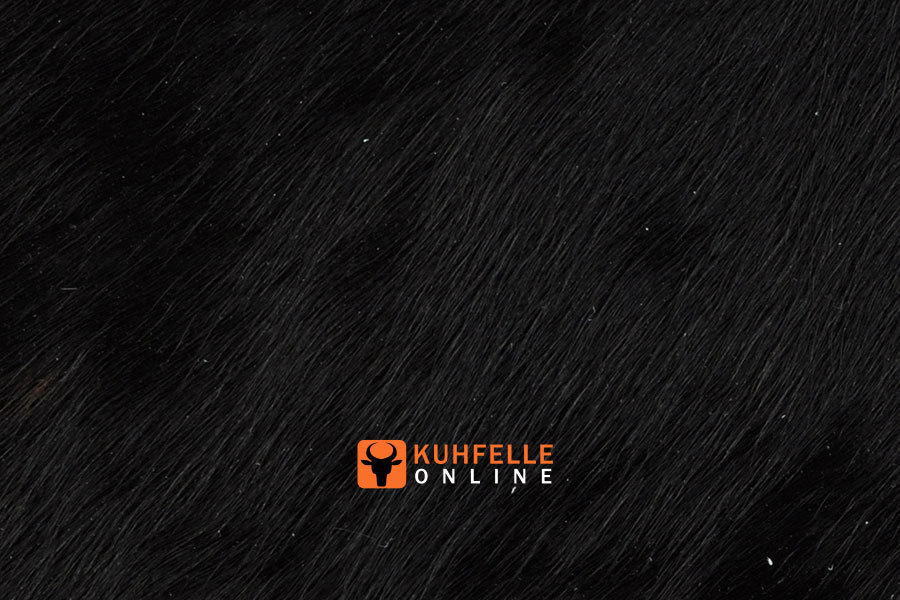 Kuhfell teppich schwarz 220 x 180 cm kuhfelle online - Kuhfell teppich schwarz ...