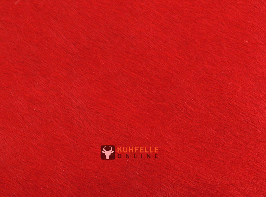 premium kuhfell teppich rot 220 x 200 cm online bestellen. Black Bedroom Furniture Sets. Home Design Ideas