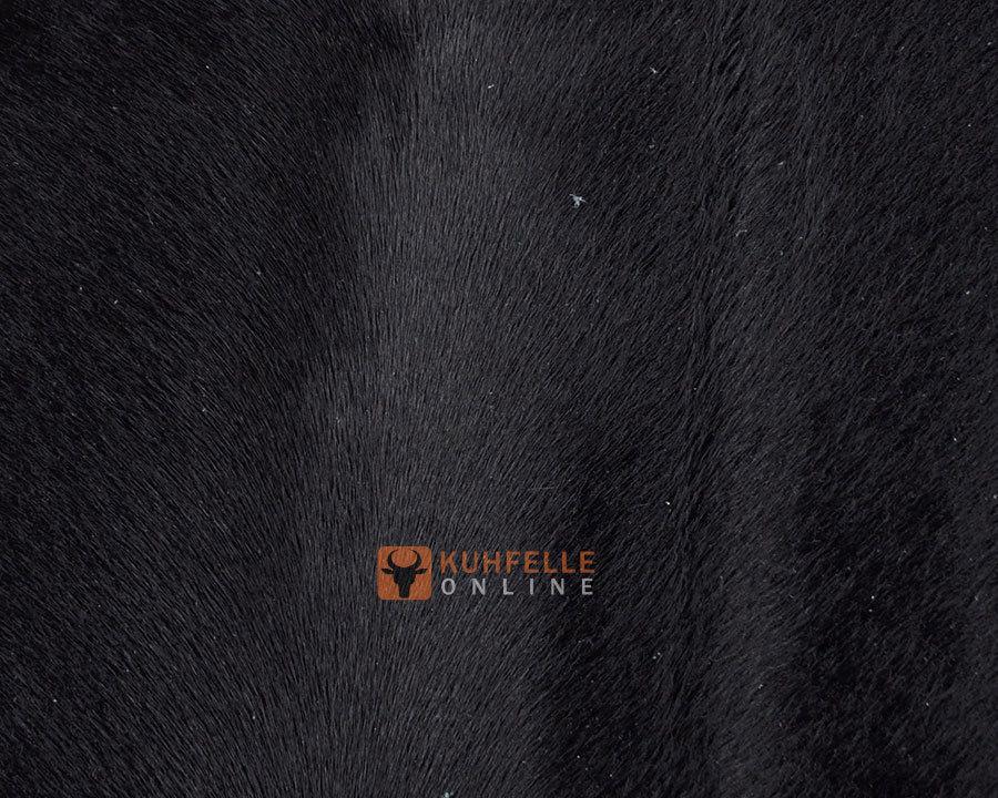 Kuhfell teppich schwarz gef rbt 235 x 210 cm online bestellen - Kuhfell teppich schwarz ...