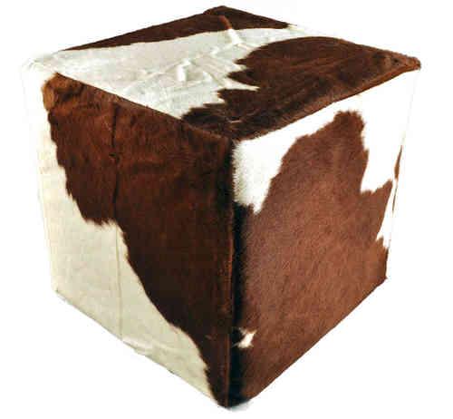 kuhfell hocker sitzw rfel bei kuhfelle online nomad bestellen. Black Bedroom Furniture Sets. Home Design Ideas