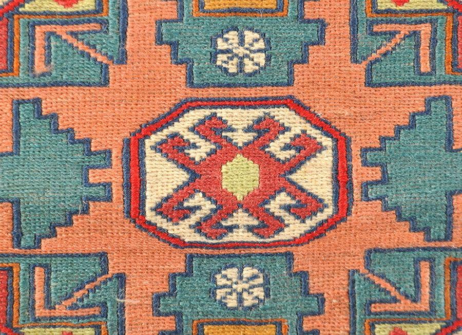 feiner Sumak Kelim Azerbaijan Korkwolle 208 x 135 cm