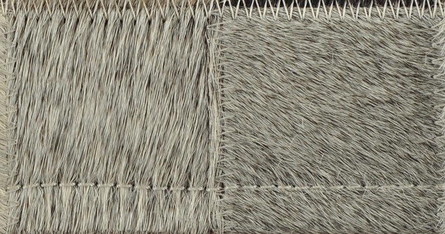 Kuhfell teppich mix grau 180 x 120 cm patchwork - Kuhfell teppich grau ...