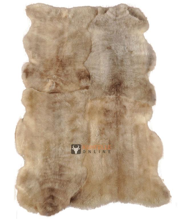 british Lambskin rug melange 180 x 110 cm  kuhfelle onli