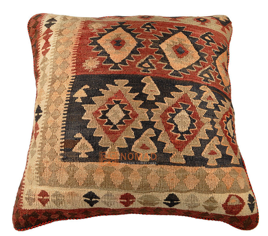 kelim sitzkissen kissen 70 x 70 cm inkl f llung nomad. Black Bedroom Furniture Sets. Home Design Ideas