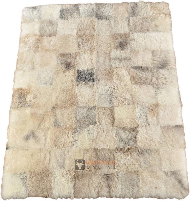 ko lammfell teppich britisch grau beige 200 x 160 cm online bestellen. Black Bedroom Furniture Sets. Home Design Ideas
