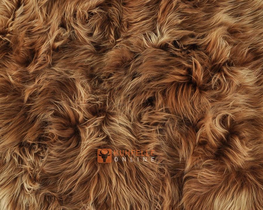 ko lammfell teppich goldbraun 200 x 175 cm kuhfelle online. Black Bedroom Furniture Sets. Home Design Ideas