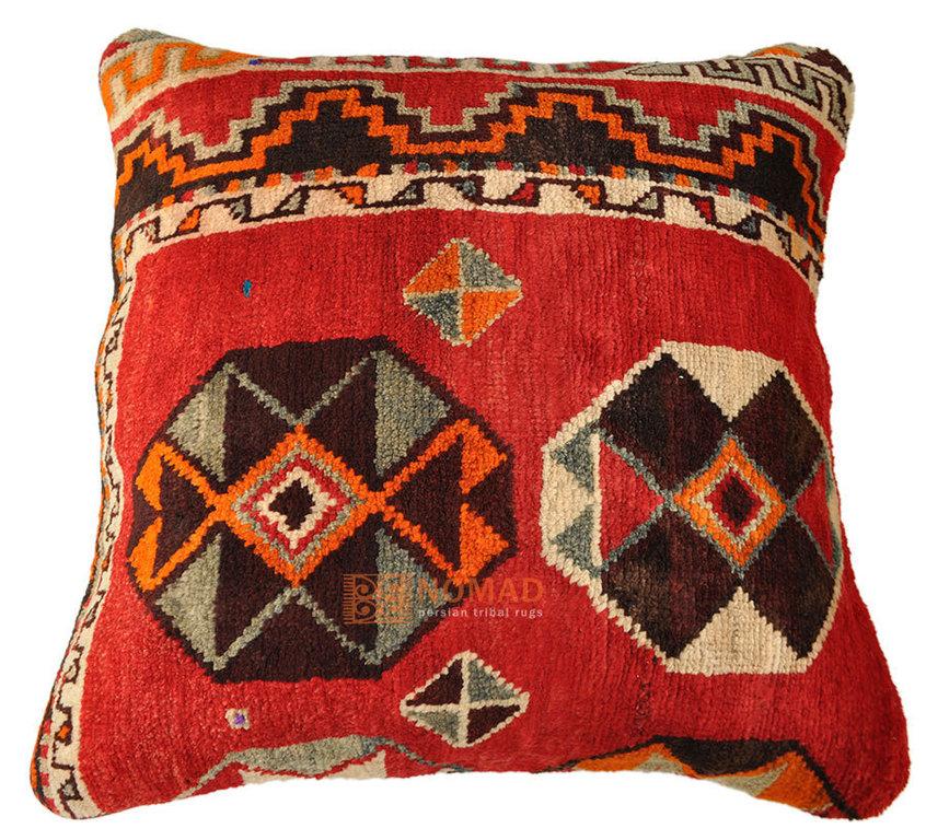 Persisches gabbeh teppich boden kissen 70x70 cm nomad for Bodenkissen orientalisch