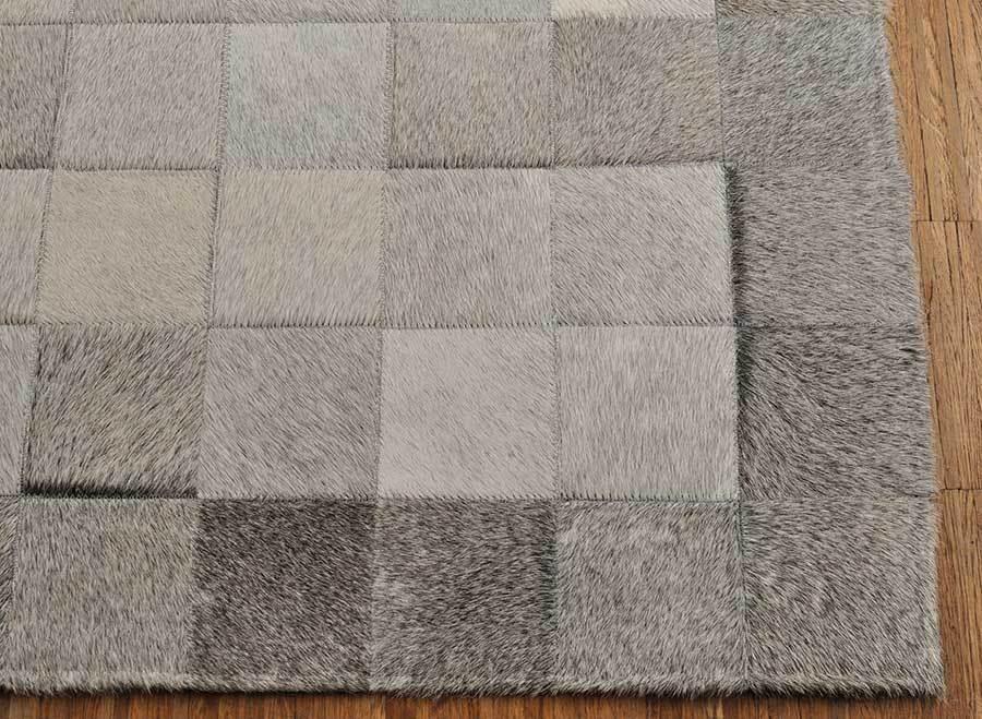 Kuhfell teppich grau natur 200 x 100 cm kuhfelle online - Kuhfell teppich grau ...