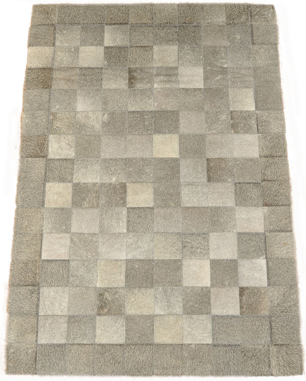 Kuhfell Teppich Grau Natur 150 X 100 Cm Kuhfelle Online