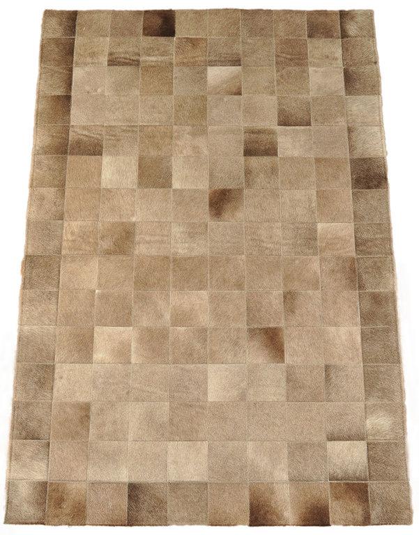 kuhfell teppich grau braun 150 x 100 cm kuhfelle online. Black Bedroom Furniture Sets. Home Design Ideas