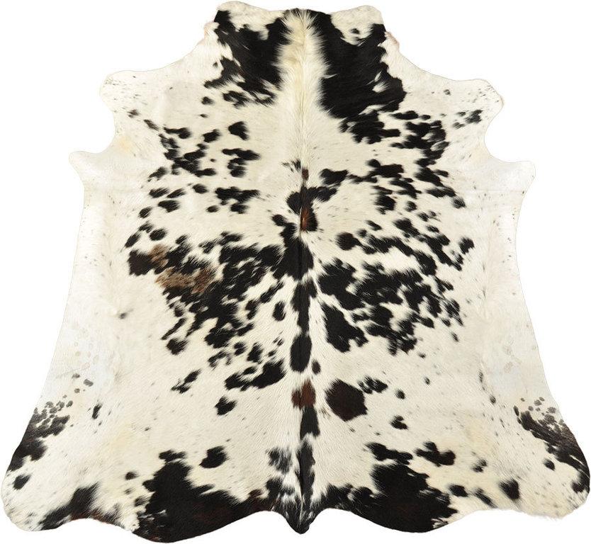 kuhfell dunkelbraun weiss 210 x 180 cm kuhfelle online. Black Bedroom Furniture Sets. Home Design Ideas