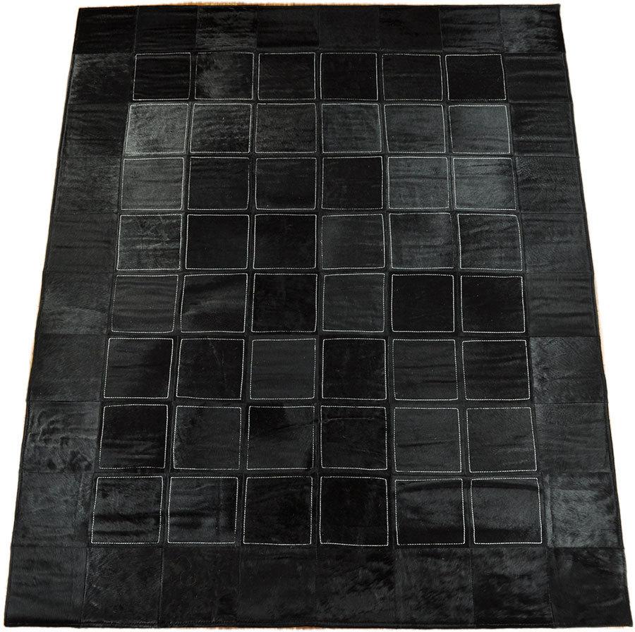 Teppich 120x180 finest jute u co aspen teppich lufer hand gewebt hohe qualitt with teppich - Kuhfell teppich schwarz ...