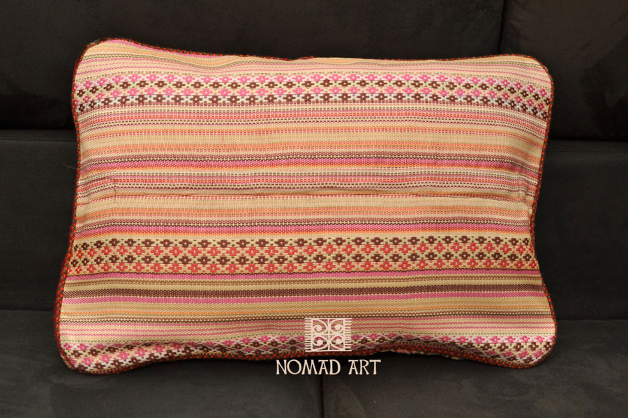 gabbeh deko kissen 60 x 40 cm kuhfelle online nomad. Black Bedroom Furniture Sets. Home Design Ideas