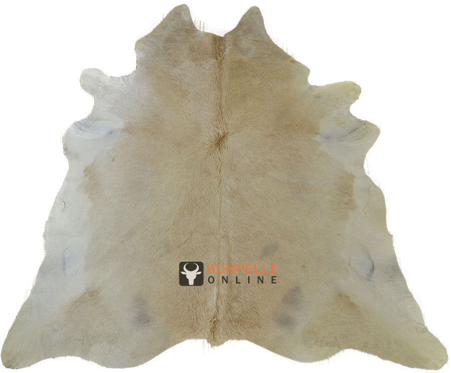 Kuhfelle Teppich Creme Beige 240 X 210 Cm Bei Kuhfelle Online