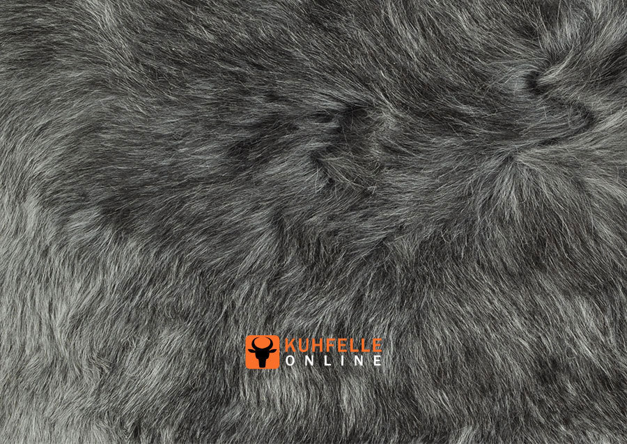 iceland lambskin gray 60 x 90 cm by kuhfelle online. Black Bedroom Furniture Sets. Home Design Ideas