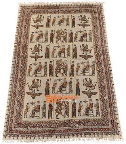 Orient Decke Tischdecke Tagesdecke Paisly  200 x 135 cm handbedruckt