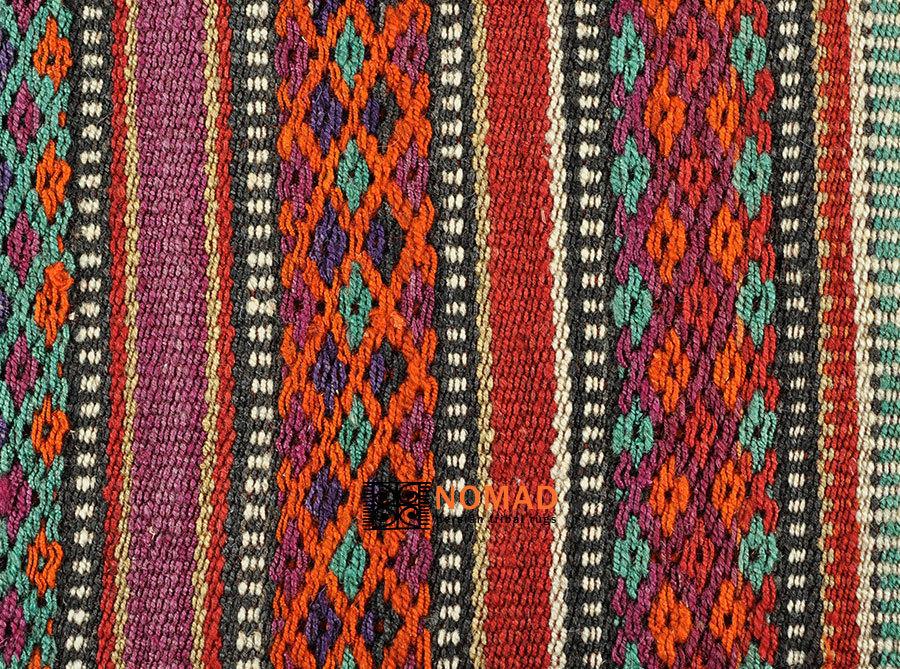 kelim stoff tagesdecke jajim azarbaijan 224 x 185 cm nomad art. Black Bedroom Furniture Sets. Home Design Ideas