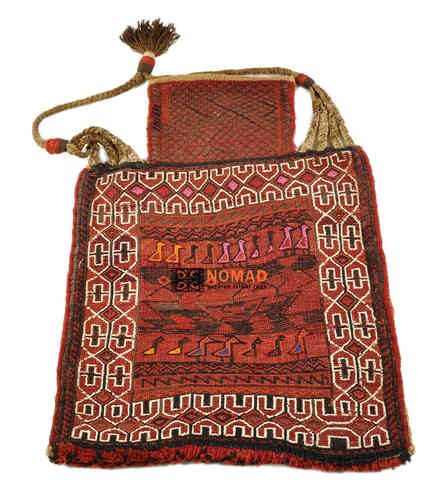 old persian kilim salt bag 67 x 52 cm