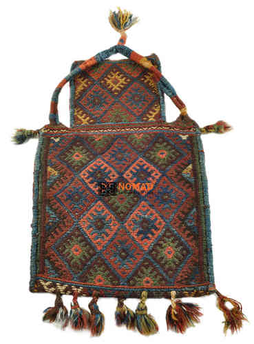 old persian kilim salt bag 63 x 40 cm