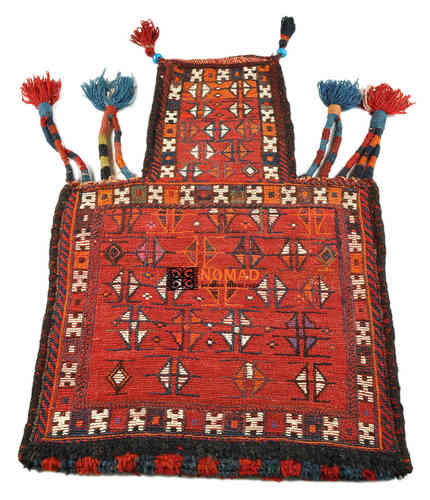 old persian kilim salt bag 77 x 57 cm