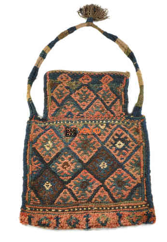 old persian kilim salt bag 50 x 36 cm
