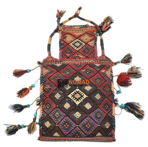 old persian kilim salt bag 60 x 35 cm