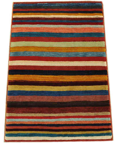 Gabbeh Qashqai 131x 91 cm south persian tribal rug