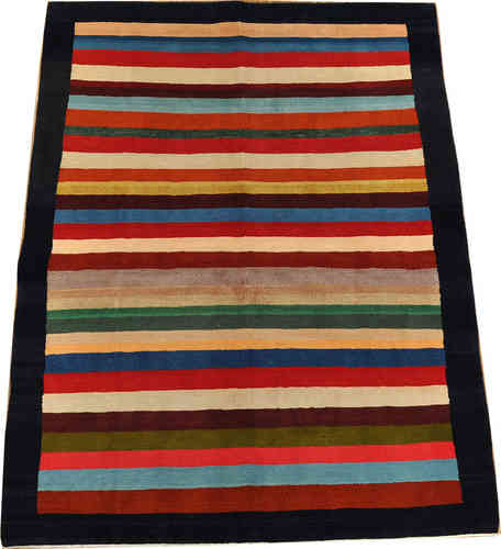 Gabbeh Qashqai 200 x 152 cm south persian tribal rug