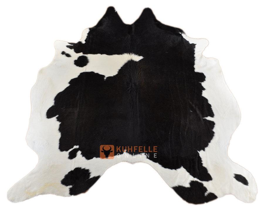 kuhfell schwarz weiss 230 x 190 cm bei kuhfelle online bestellen. Black Bedroom Furniture Sets. Home Design Ideas