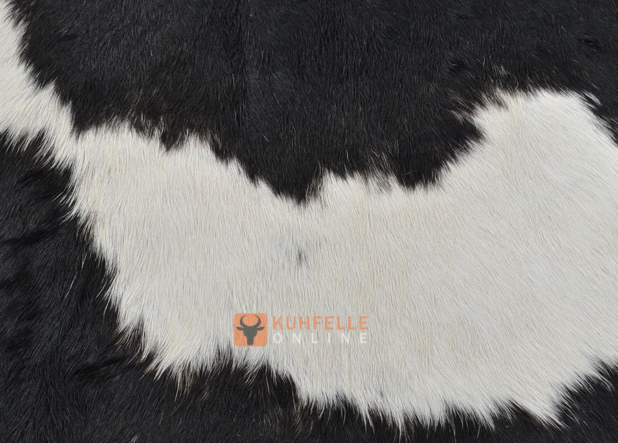 kuhfell schwarz weiss 235 x 180 cm kuhfelle online bestellen. Black Bedroom Furniture Sets. Home Design Ideas