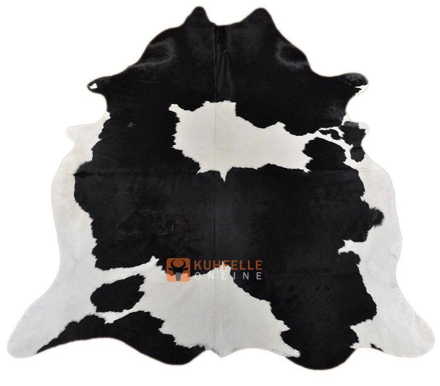 kuhfell schwarz weiss 220 x 185 cm kuhfelle online bestellen. Black Bedroom Furniture Sets. Home Design Ideas