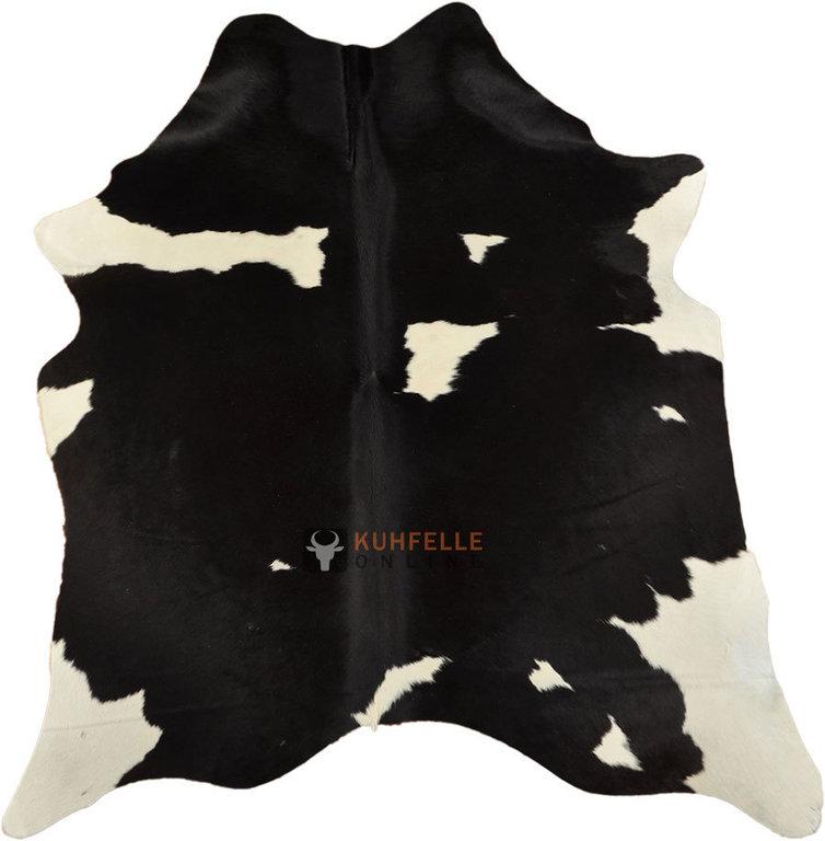 kuhfelle schwarz weiss 190 x 160 cm i kuhfelle online bestellen. Black Bedroom Furniture Sets. Home Design Ideas